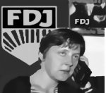 Merkel im FDJ Rausch